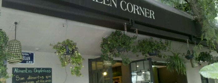 The Green Corner is one of CdMx: Munch Vegano.