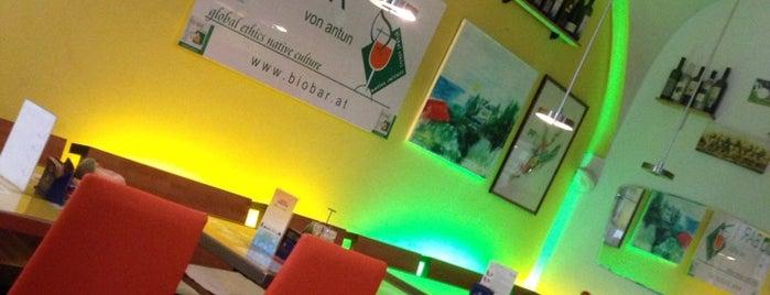 Biobar von Antun is one of Bio-Restaurants in Wien.