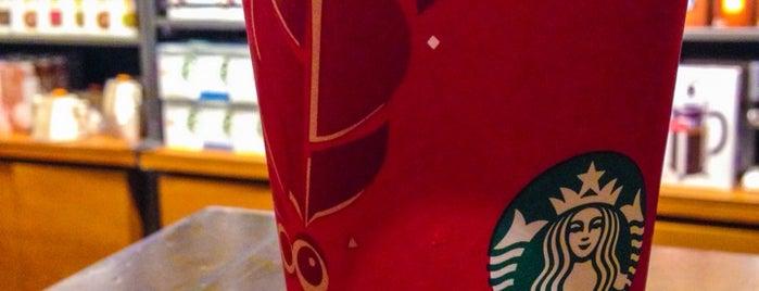 Starbucks is one of Orte, die Michael gefallen.