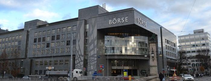 Neue Börse Zürich is one of 5 días en Zurich / 5 days in Zurich.