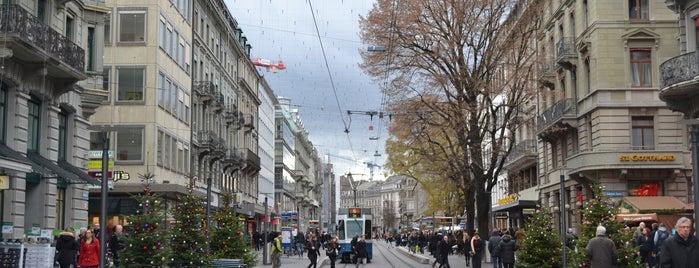 Bahnhofstrasse is one of 5 días en Zurich / 5 days in Zurich.