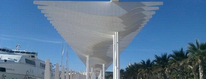 Palmeral de las Sorpresas is one of Rincones de Málaga.