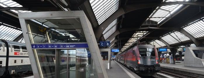 Estação central de Zurique is one of 5 días en Zurich / 5 days in Zurich.