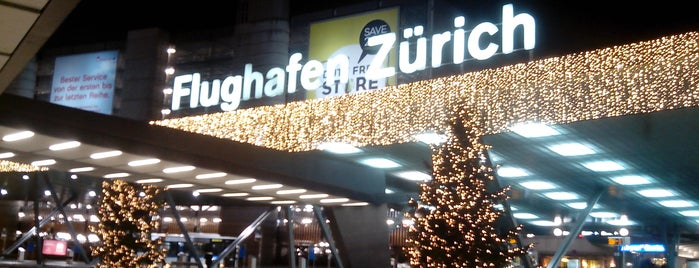 Aeroporto de Zurique (ZRH) is one of 5 días en Zurich / 5 days in Zurich.
