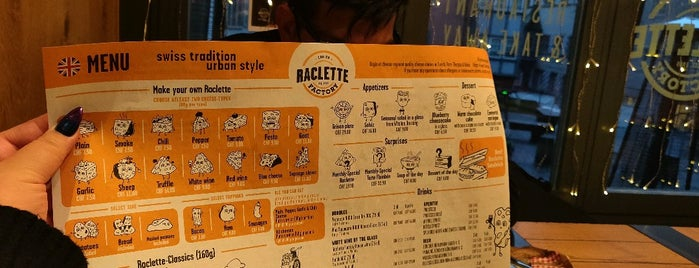 Raclette Factory is one of Encounter (Europe).