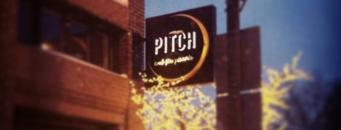 Pitch Coal-Fire Pizzeria is one of Lugares guardados de Ray L..