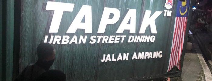 TAPAK Urban Street Dining is one of Tempat yang Disukai Alyssa.