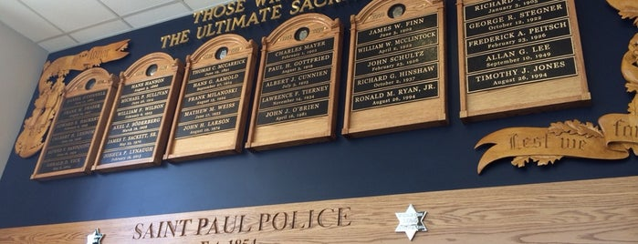 Saint Paul Police Headquarters is one of MN.