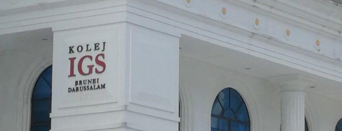 International Graduate Studies (IGS) College is one of S 님이 좋아한 장소.