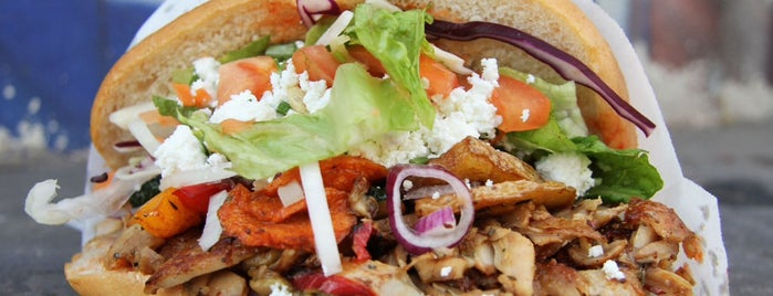Mustafa's Gemüse Kebap is one of Miso Hungry.