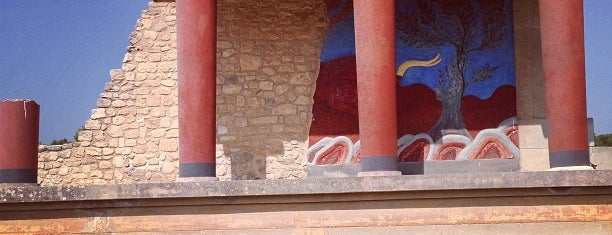 Knossos is one of Crete.