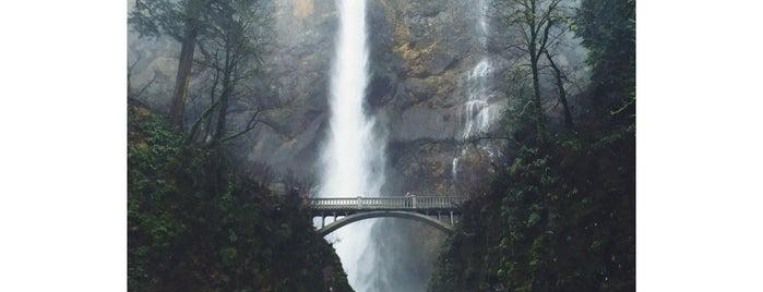Multnomah Falls Overlook is one of Portlandia.