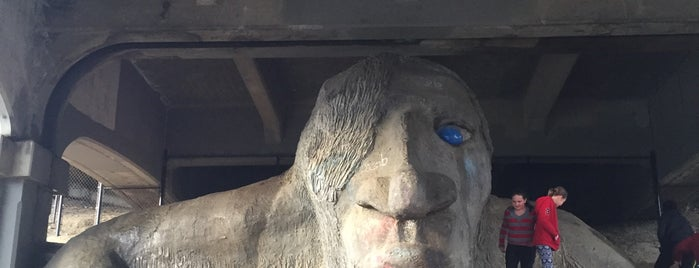 The Fremont Troll is one of N.L and M.C.'s Best of the Best.