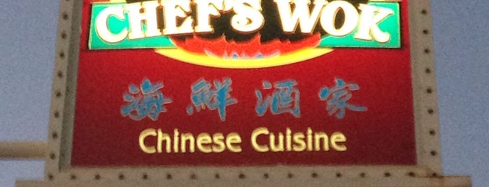 Chef's Wok is one of Tempat yang Disukai Frank.