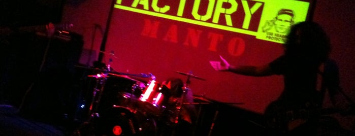 Factory Music & Art Club is one of Favorite Nightlife Spots.