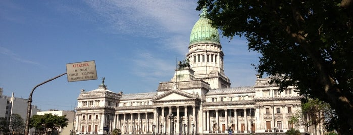 Plaza del Congreso is one of Capital Federal (AR).