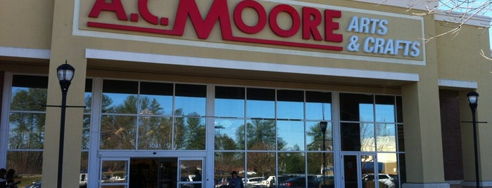 A.C. Moore Arts & Crafts is one of Christy's Liked Places.