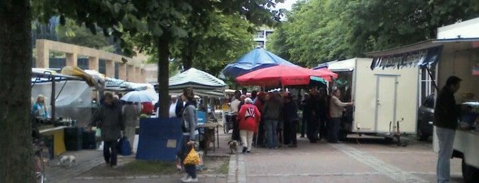 Schwabinger Bauernmarkt is one of Märkte in München.