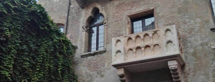 Balcony of Romeo and Juliet is one of Trips / Tuscany and Lake Garda.