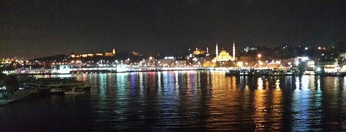 Haliç Metro Köprüsü is one of Orte, die MEHMET YUSUF gefallen.