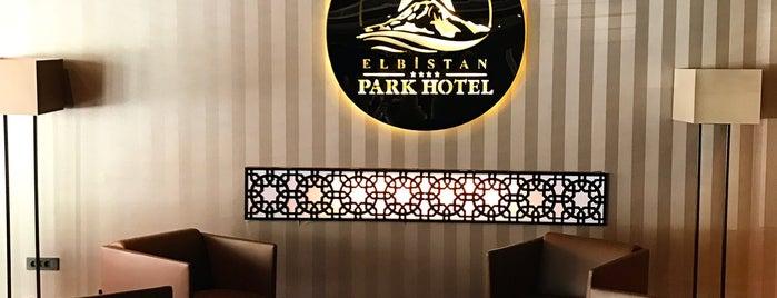 Grand Elbistan Park Otel is one of MEHMET YUSUF'un Beğendiği Mekanlar.