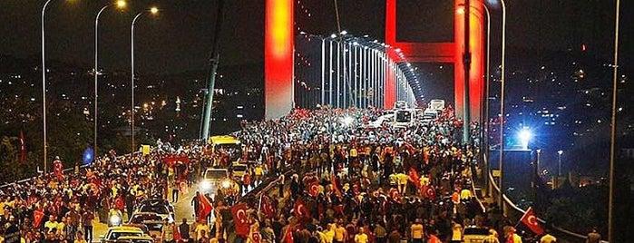 Boğaziçi Köprüsü is one of Lieux qui ont plu à MEHMET YUSUF.