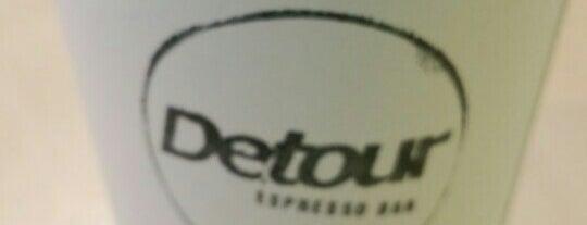 Detour Espresso Bar is one of Locais salvos de Jonathan.