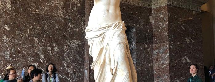 La Vénus de Milo is one of Paris 🇫🇷.