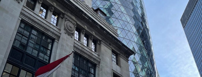 30 St Mary Axe is one of UK!.