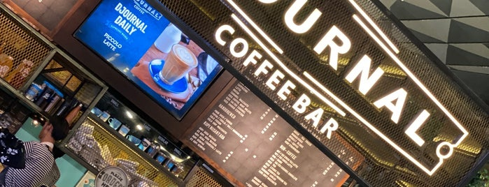 Djournal Coffee is one of สถานที่ที่ Chuck ถูกใจ.