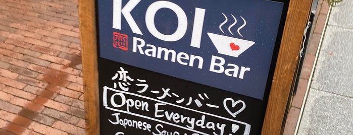 Koi Ramen Bar is one of Japanese.