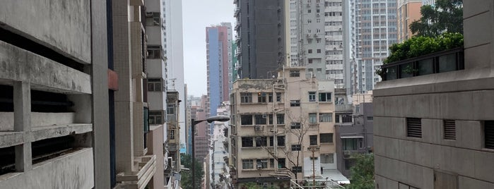 SoHo District is one of Hong Kong.