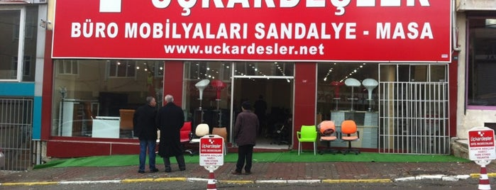 Üç Kardesler Ofis Mobilyalari is one of Lugares favoritos de Sinan.