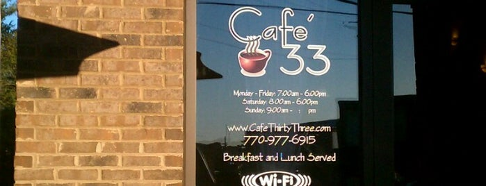 Cafe 33 is one of USA 5.