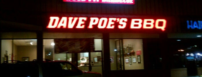 Dave Poe's BBQ is one of Atlanta.