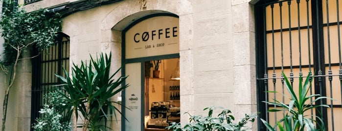 Nømad Coffee Lab & Shop is one of Sam's Barcelona.