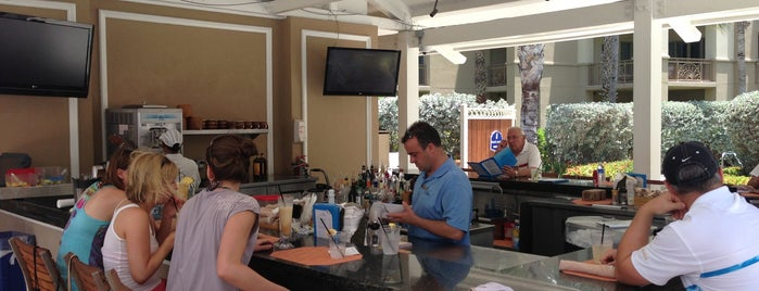 Bar Jack at the Ritz-Carlton is one of Caymans.