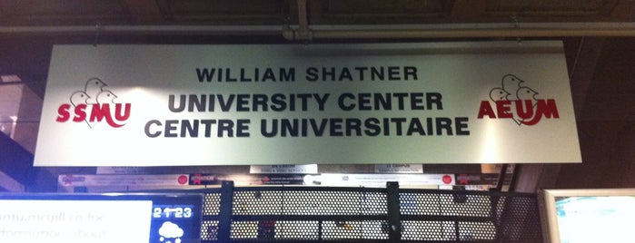 McGill University Centre (Shatner) is one of Montreal.