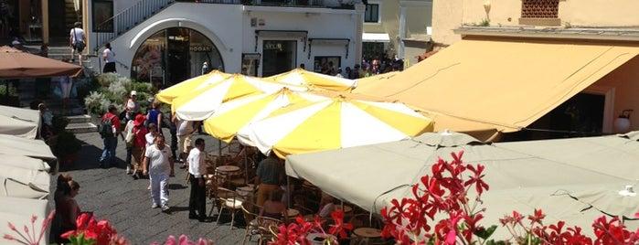 Piazza Umberto I is one of A spasso per Capri - Napoli - Campania.