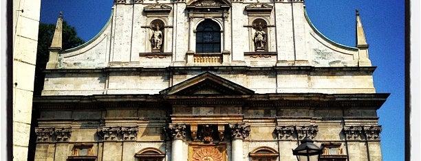 Kościół św. Piotra i Pawła is one of Carl : понравившиеся места.