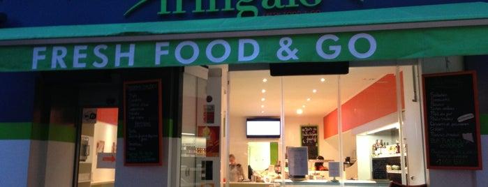 Bio Fringale - Fresh Food & Go is one of Gluten free France.