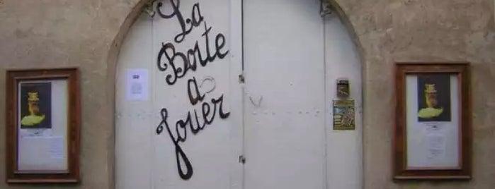 La Boite à Jouer is one of Thomas'ın Beğendiği Mekanlar.