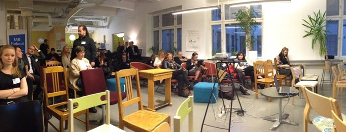 Hub Helsinki is one of Coworking Spaces I've Visited.