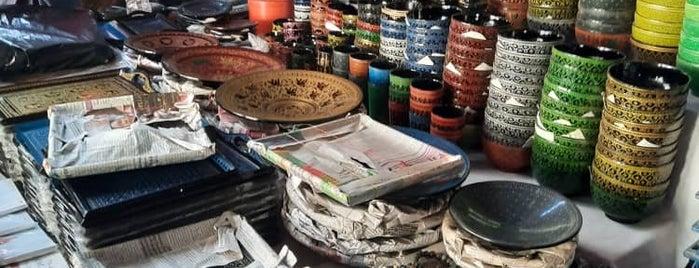 Mani Sithu Market is one of Bagan,  Myanmmar.