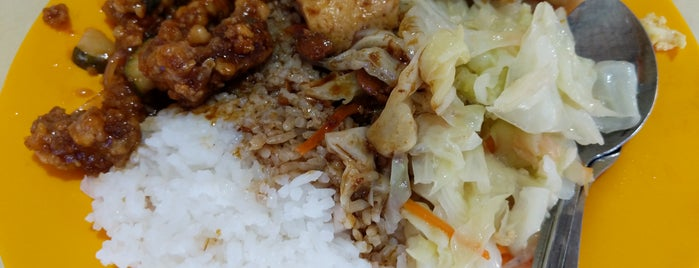 Lai Heng Economical Mixed Vegetables Rice is one of Micheenli Guide: Popular Economy Rice In Singapore.