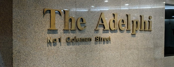 The Adelphi is one of Locais curtidos por Chuck.