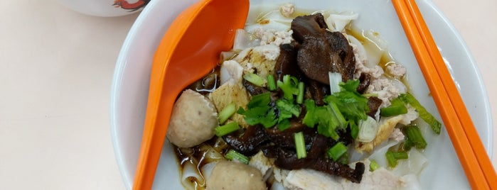 Ding Ji Mushroom Minced Meat Noodles is one of Hawker Stalls I Wanna Try... (3).