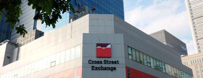Cross Street Exchange is one of Singapore 🇸🇬.