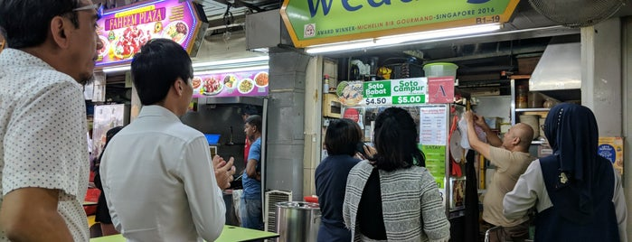 Wedang is one of Micheenli Guide: Best of Singapore Hawker Food.