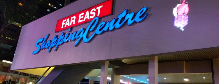 Far East Shopping Centre is one of Singapore: business while travelling.